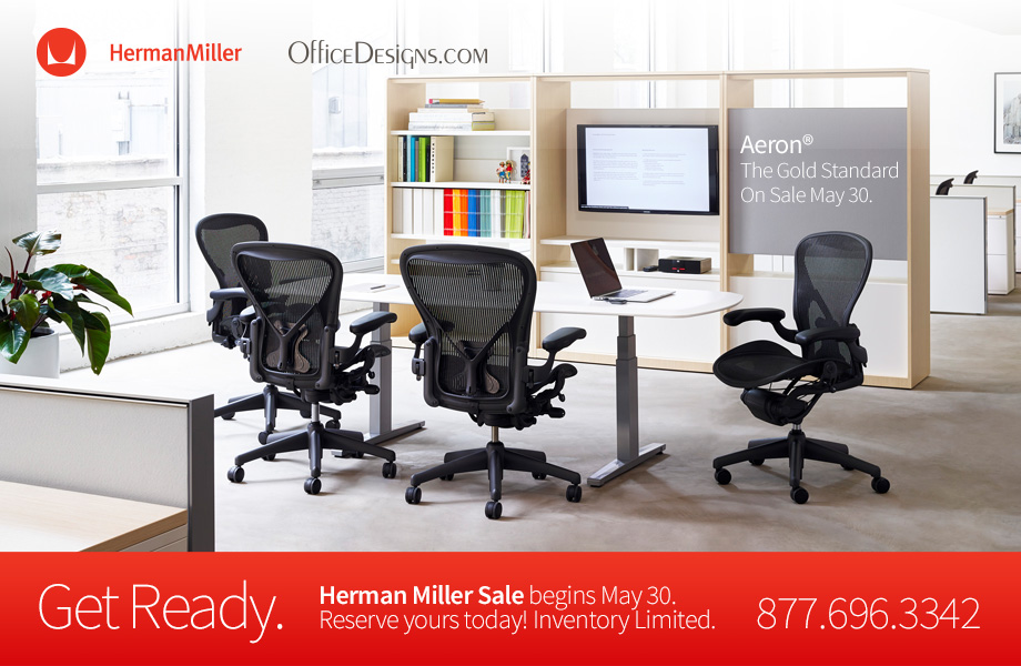Preview the Herman Miller Sale and reserve your favorites today!