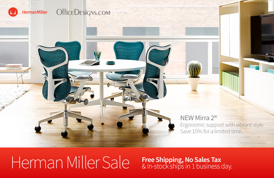 Herman Miller Sale in Progress at OfficeDesigns.com