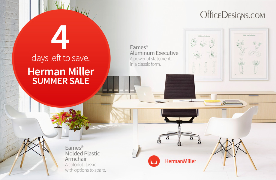 Days Left to Save during the Herman Miller Sale