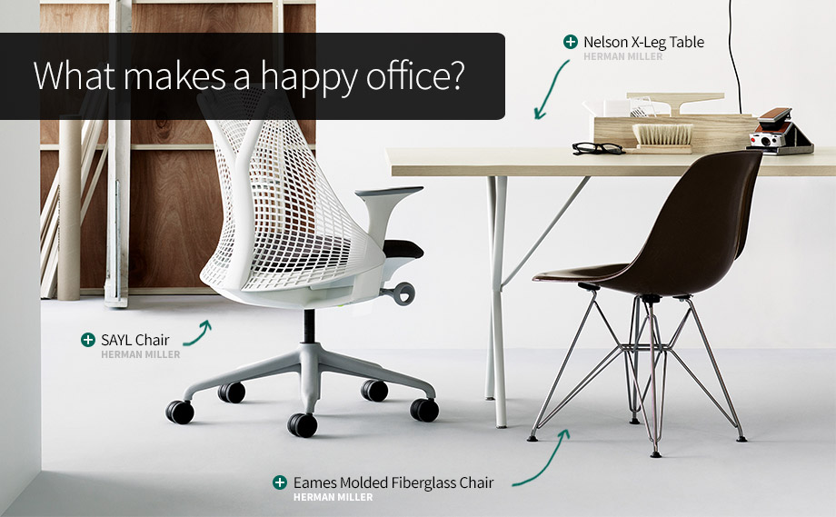 What makes a happy office?