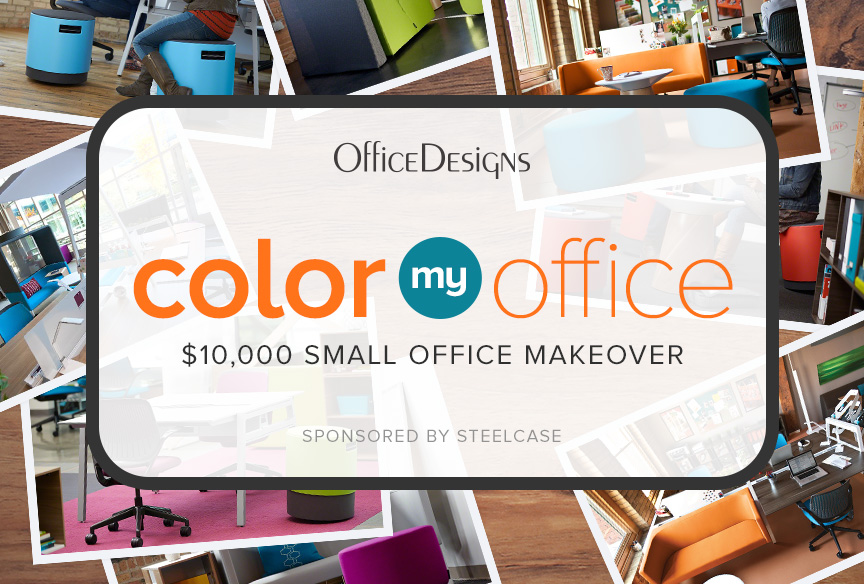 Win a $10,000 Small Office Makeover