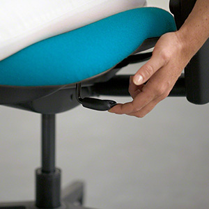 Adjusting Height of Chair to Support Body