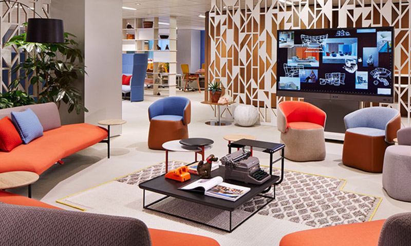 NeoCon 2015: What's New & Trending in Office Spaces