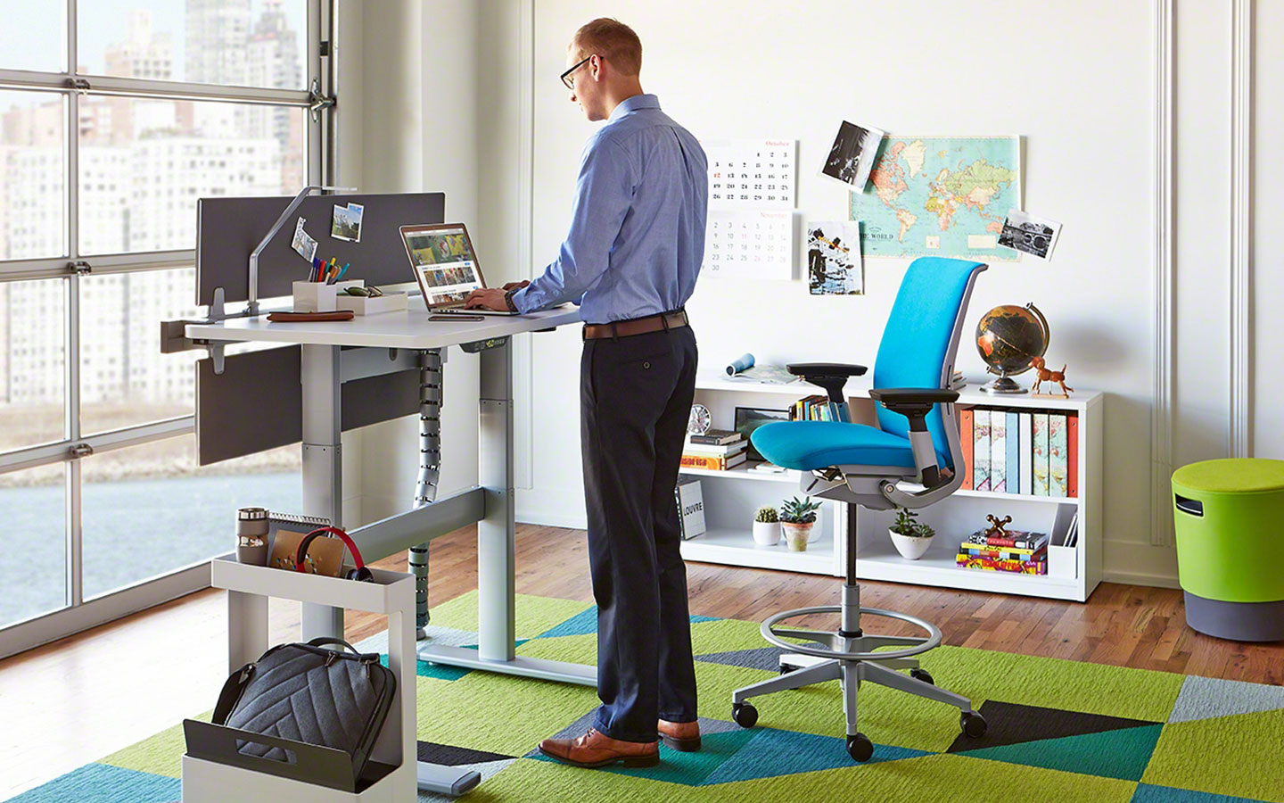 Maximize Your Benefits From A Sit-Stand Desk