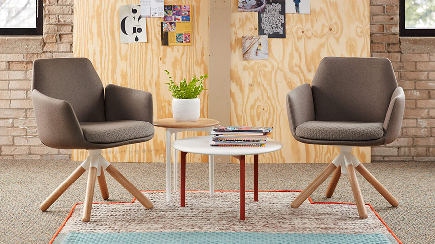 Haworth Showcasing natural elements in office design trends