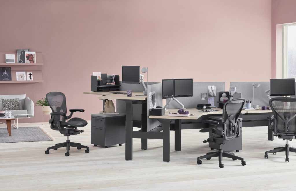 Graphite Aeron Chair® by Herman Miller®