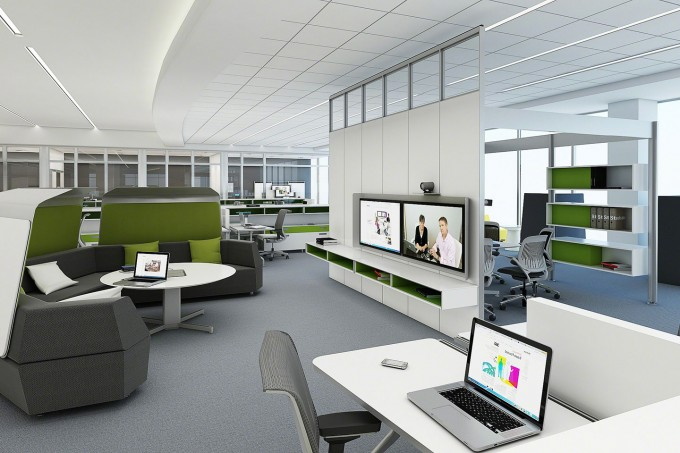 Simple office layout fixes to strengthen office for Office design productivity research