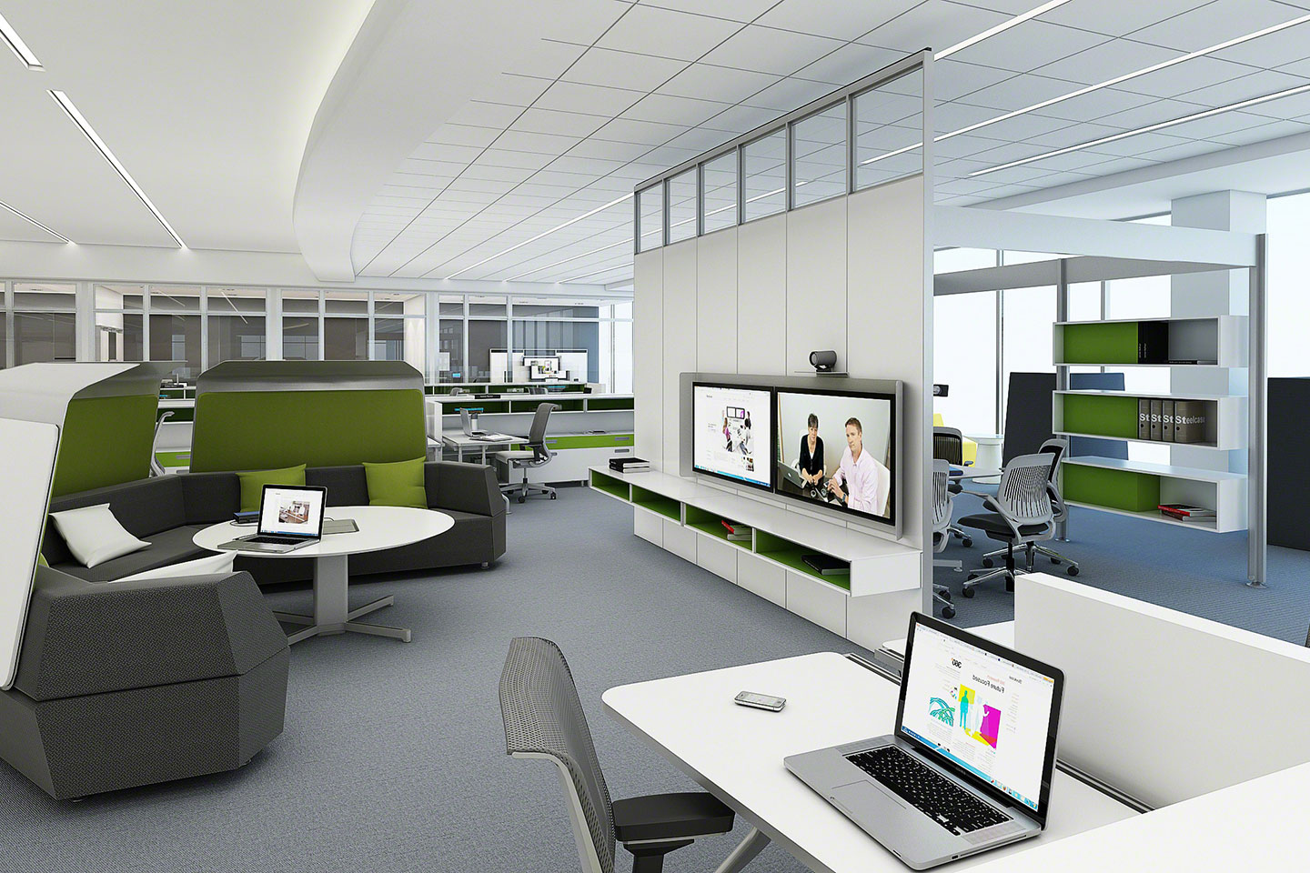 Simple office layout fixes to strengthen office for Office space planning