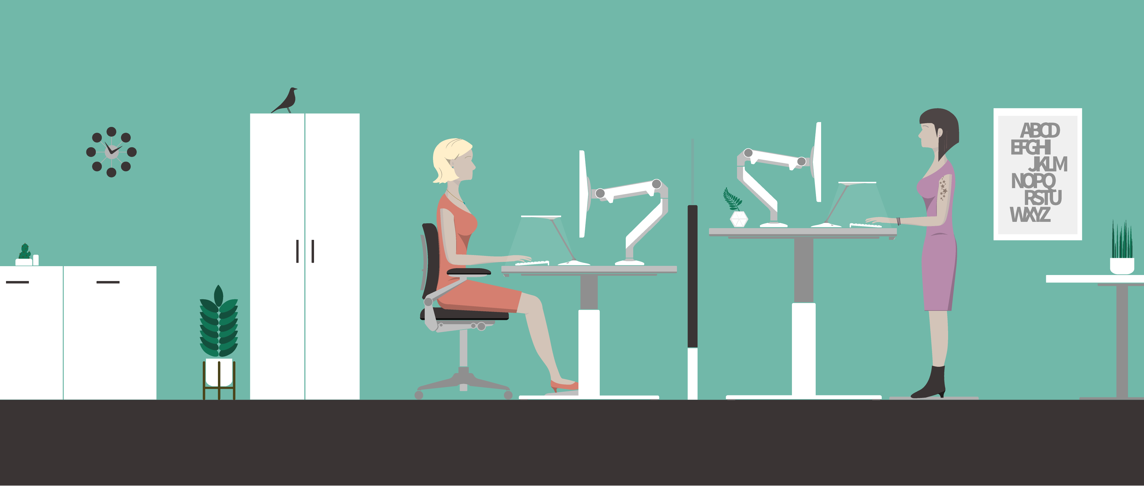 Infographic: Avoid Desk Pain With Correct Sitting Posture