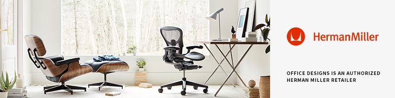 OfficeDesigns.com is an authorized Herman Miller retailer.